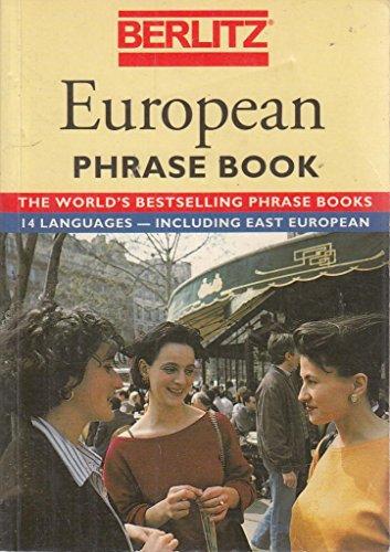 9782831509266: Berlitz European Phrase Book (Berlitz Phrase Books)