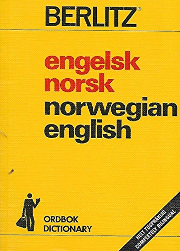 9782831509488: Engelsk Norsk Norwegian English Dictionary