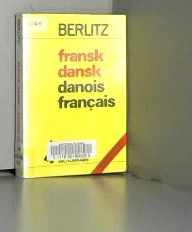 9782831509556: Dictionnaire français-danois, danois-français