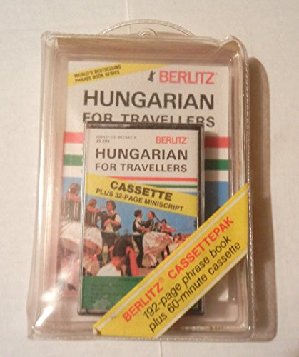 9782831510101: Hungarian for Travellers (Berlitz Cassettepaks)