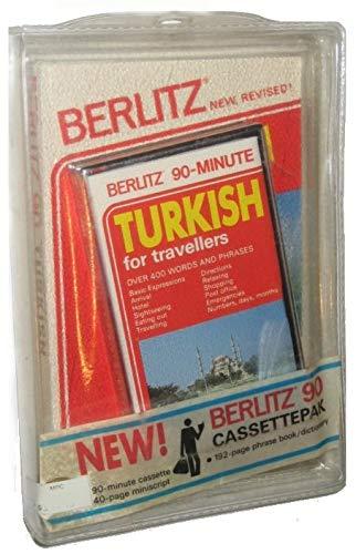 9782831510484: Turkish for Travelers/Book and Audio Cassette (Berlitz Cassettepaks)