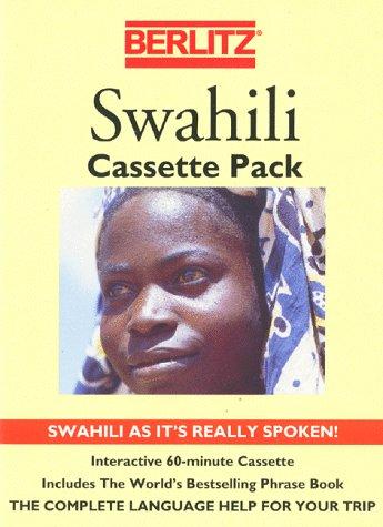 9782831513911: Berlitz Swahili Cassette Pack