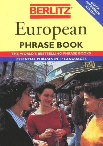 9782831515205: Berlitz European Phrase Book