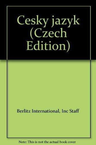 Cesky jazyk (Czech Edition)