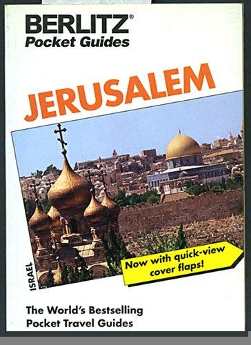 9782831523736: Berlitz: Jerusalem (Berlitz Pocket Travel Guides)