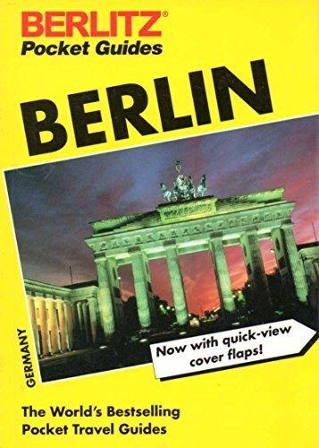 9782831525587: Berlin (Berlitz Pocket Guides)