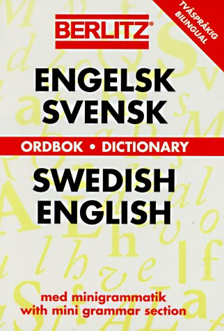 9782831550923: Berlitz Swedish-English Dictionary (Berlitz Bilingual Dictionaries)
