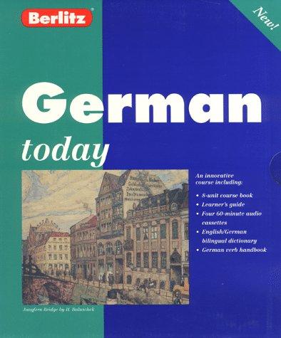9782831561967: Berlitz German Today (Berlitz Today) (German Edition)