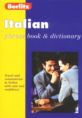 9782831562414: Berlitz Italian Phrase Book and Dictionary