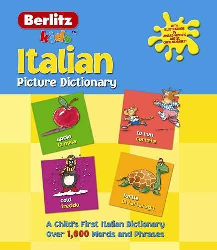 9782831562568: Berlitz Italian Picture Dictionary (Berlitz Kids) (English and Italian Edition)