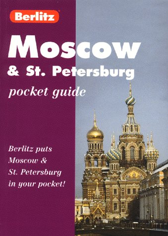 9782831563282: Berlitz Moscow and St. Petersburg Pocket Guide (Berlitz Pocket Guides)