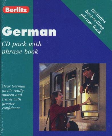 9782831563435: Berlitz German CD Pack With Phrase Book