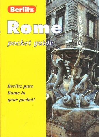 9782831563701: Berlitz Rome Pocket Guide