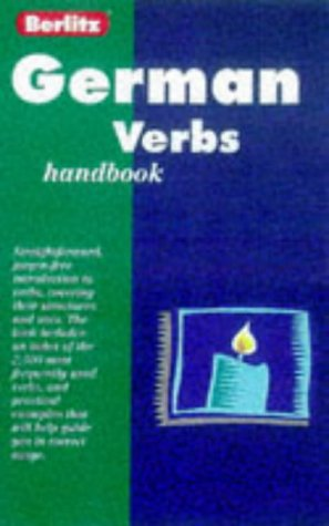 9782831563916: German Verb Handbook (Berlitz Language Handbooks) (German Edition)
