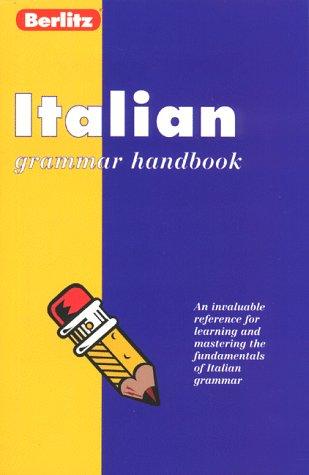 9782831563930: Berlitz Italian Grammar: Handbook (Berlitz Language Handbooks) (Italian Edition)