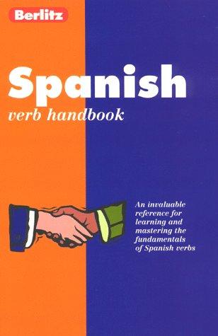 9782831563978: Berlitz Spanish Verbs Handbook (Berlitz Handbook Australia) (Spanish Edition)