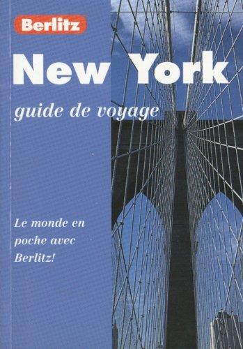 9782831564418: New york guide de voyage