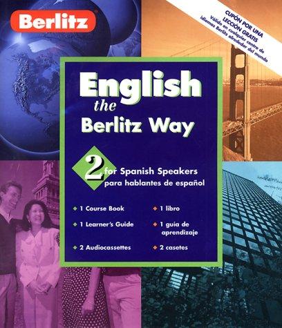 9782831571898: Berlitz English the Berlitz Way for Spanish Speakers: Level 2 (Berlitz Basic) (English and Spanish Edition)