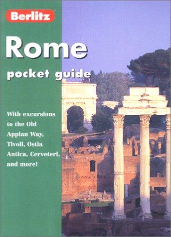 9782831577050: Berlitz Rome Pocket Guide (Berlitz Pocket Guide Rome)