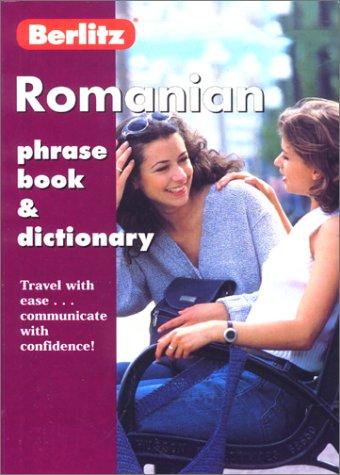 9782831577371: Berlitz Romanian Phrase Book & Dictionary (Berlitz Phrase Books)