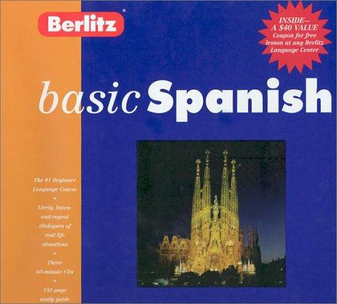 9782831579269: Berlitz Basic Spanish