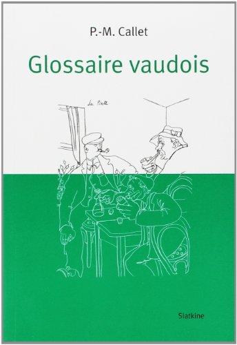 9782832101254: Glossaire vaudois
