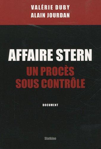9782832103715: Affaire Stern : Un procès sous contrôle