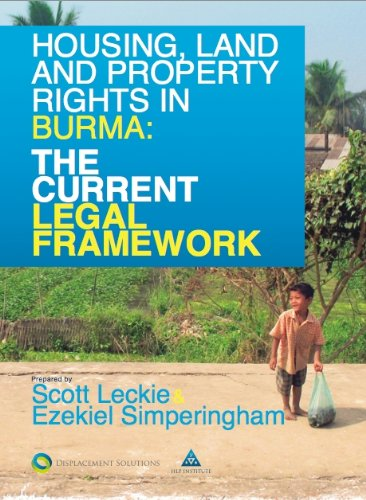 9782839905787: Housing, Land and Property Rights in Burma: The Current Legal Framework