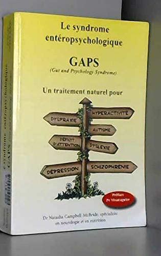 9782839908931: Le syndrome entéropsychologique GAPS (Gut and Psychology Syndrome)