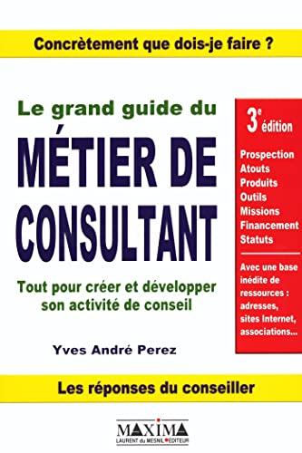 9782840013792: Le Grand Guide du métier de consultant