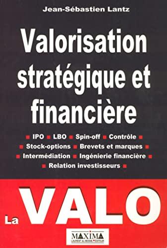 9782840013815: VALORISATION STRATEG ET FINANC