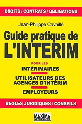 9782840014874: Guide pratique de l'intérim (French Edition)