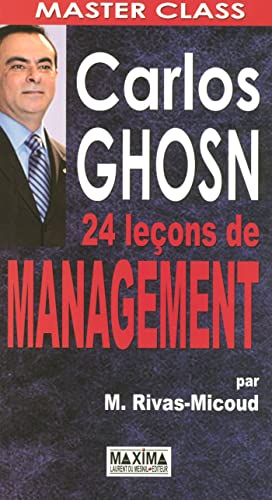 9782840015055: Carlos Ghosn - 24 Le�ons de management
