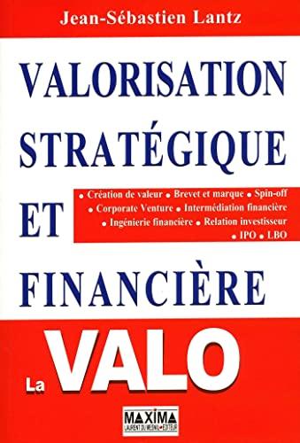 9782840015222: VALORISATION STRATEGIQUE ET FINANCIERE 2ED