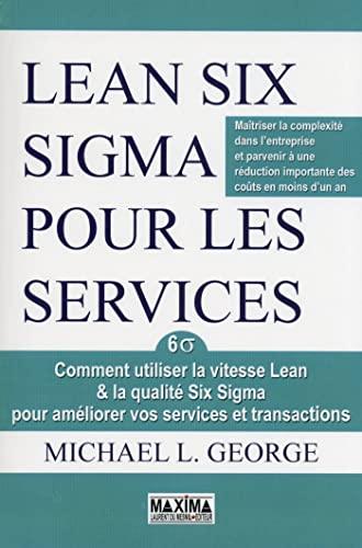 9782840017516: Lean six sigma pour les services
