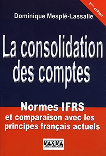 Consolidation des comptes (3e édition): Dominique Mesple Lassalle