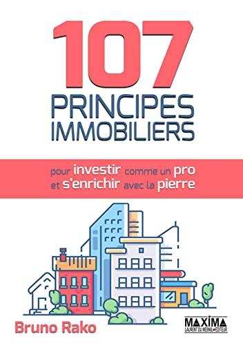 9782840019213: 107 Principes Immobiliers (pour Investir comme un Pro et S'enrichir avec la Pierre)