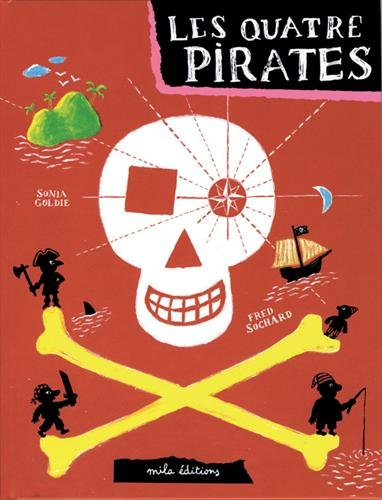 9782840062813: Les quatre pirates
