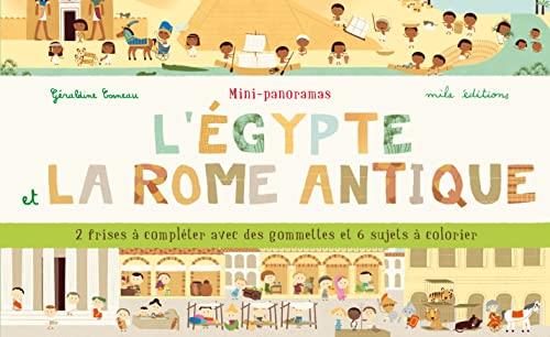 9782840067559: Mini-panoramas : L'�gypte et la Rome antique