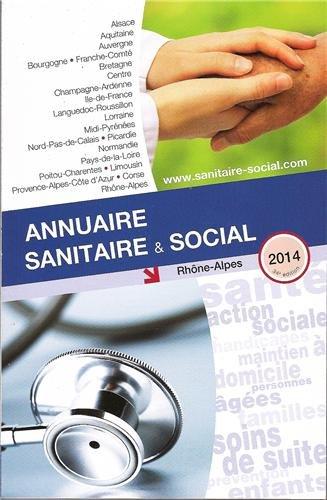 9782840071501: Annuaire sanitaire et social Rhône-Alpes