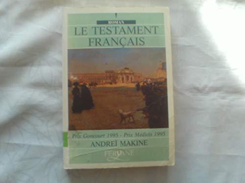 9782840111443: Le Testament Francais