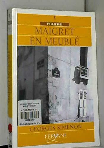 9782840113980: Maigret en meublé