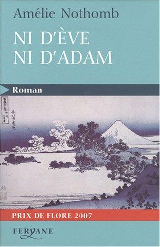 9782840118169: Ni d'Eve ni d'Adam (Roman)