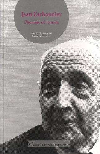 Jean Carbonnier. L'homme et l'oeuvre: Raymond Verdier