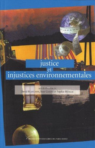 9782840160953: justice et injustices environnementales