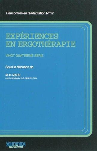 9782840237419: experiences en ergotherapie 24 serie