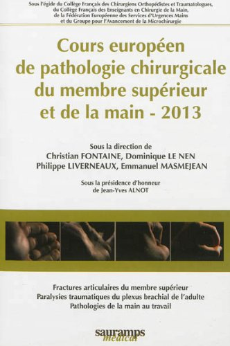 COURS EUROPEEN PATHOLOGIE CHIRURGICALE: COLLECTIF