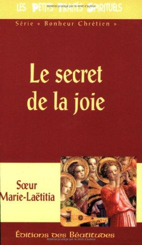 le secret de la joie, vie dans: n/a