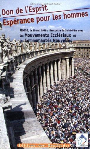 9782840241379: Don de l'esprit, une espérance pour les hommes (French Edition)