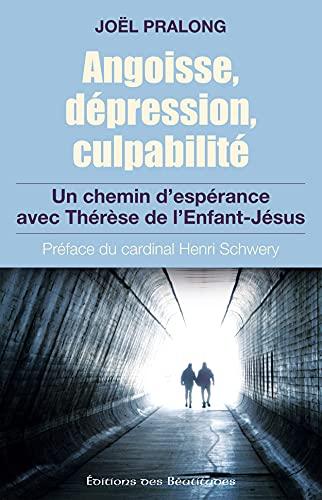 Angoisse dépression culpabilité. Un chemin d espérance: Joël Pralong